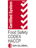 Food Safety CODEX HACCP