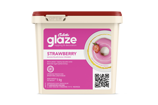 Colatta Glaze - Strawberry