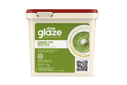 Colatta Glaze - Green Tea Matcha