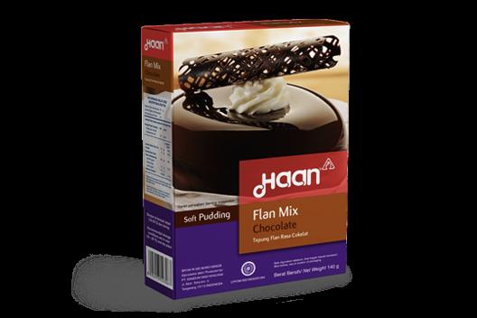 Haan Flan Mix Chocolate