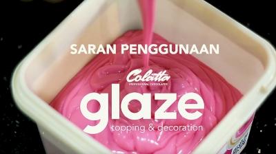 Rekomendasi Aplikasi Colatta Glaze untuk Topping Donut & Mirror Glaze Cake