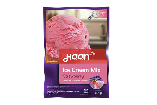 Ice Cream Mix - Strawberry