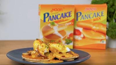 #SahabatKreatifmu: Resep egg benedict Willgoz with Haan Pancake