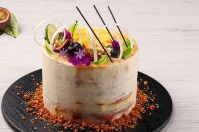 Korean Lunch Box Cake yang Serba Minimalis