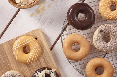 Donut Klasik Berpadu Umbi-umbian